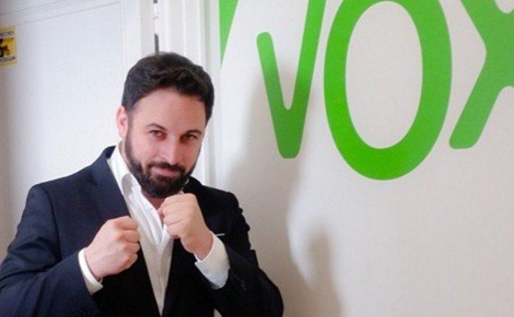 El actual líder de VOX, Santiago Abascal, podría entrar en el Congreso con un escaño