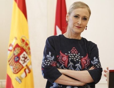 Cristina Cifuentes se matriculó en el máster tres meses después de que comenzara