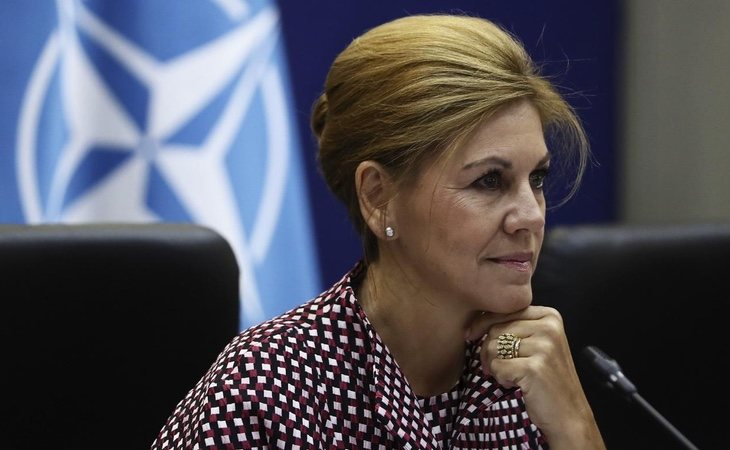 La actual ministra de Defensa ocupa hasta seis cargos diferentes