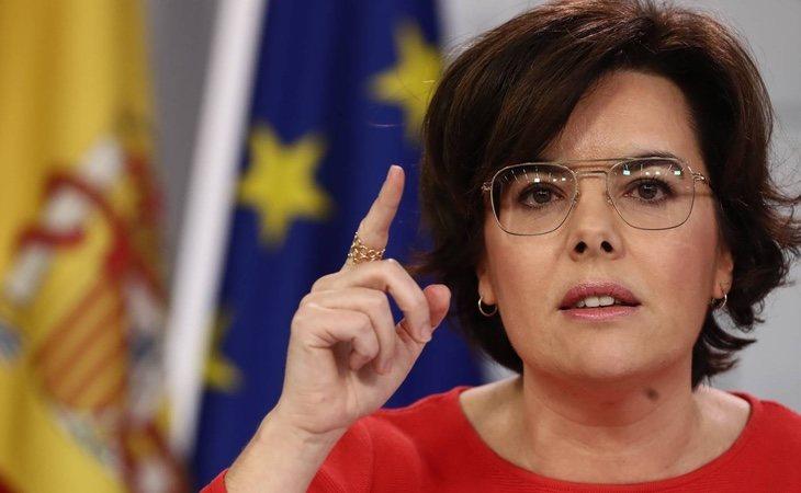 Sáenz de Santamaría cuenta con gran poder desde su cargo de vicepresidencia