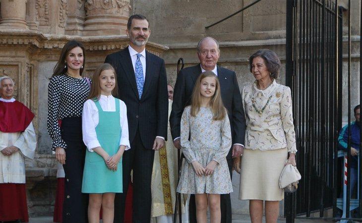 El presupuesto de la Familia Real crece por segundo año consecutivo