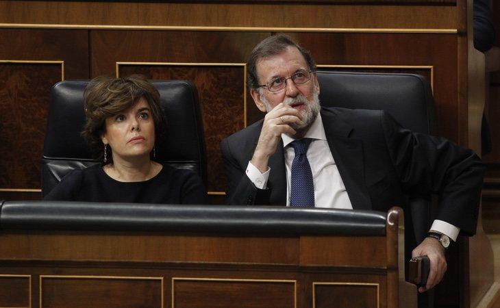 Rajoy y Soraya Sáenz de Santamaría superan los 75.000 euros de sueldo