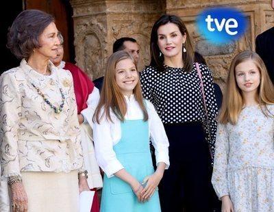 TVE censura el enfrentamiento entre las reinas doña Letizia y doña Sofía