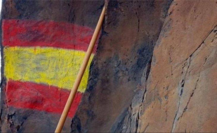 La pintada ha afectado a los grabados de origen prehispánicos