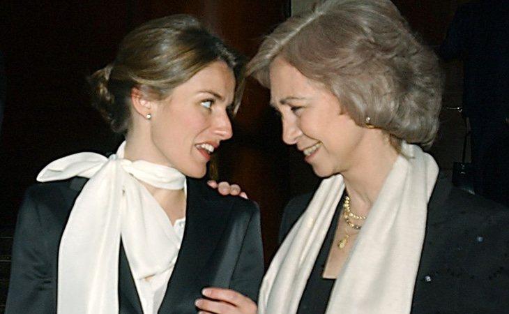 La reina Letizia y doña Sofía se llevaban muy bien al principio