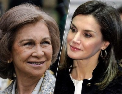 Los motivos de la mala relación entre doña Sofía y la reina Letizia