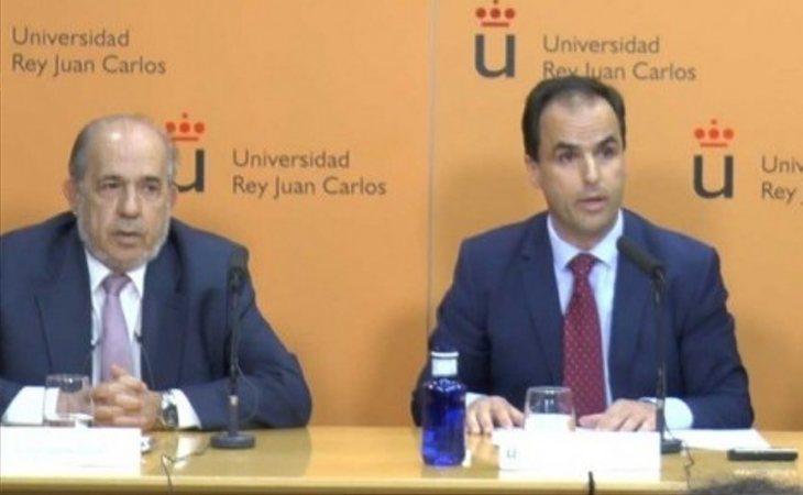Enrique Álvarez Conde y Javier Ramos