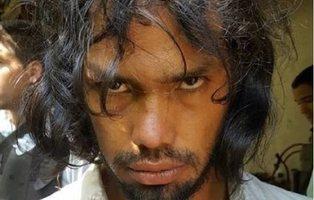 Detenido el 'artista antropófago': se comió a un hombre y pintó un lienzo con su sangre