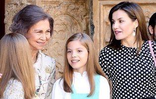 Un nuevo vídeo muestra cómo la reina Letizia se encara con doña Sofía