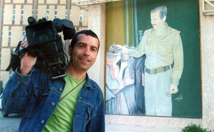José Couso acudió a Bagdad para informar sobre la guerra de Irak
