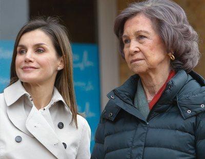 Don Juan Carlos se negó a recibir a la reina Letizia en el hospital