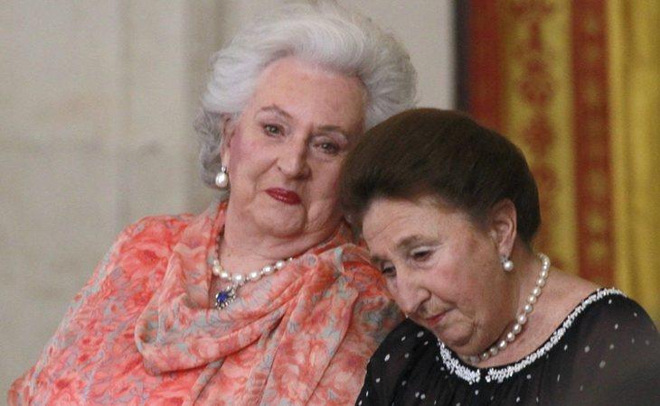 Letizia ha tenido varios feos con las infantas Pilar y Margarita