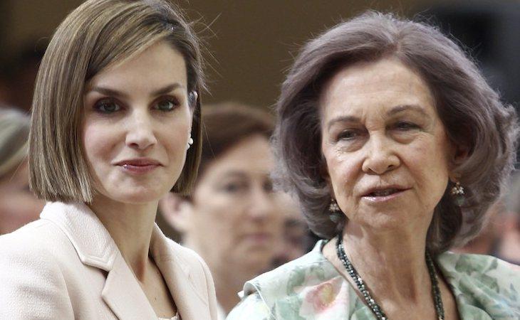La mala relación de la reina Letizia con la familia griega de doña Sofía