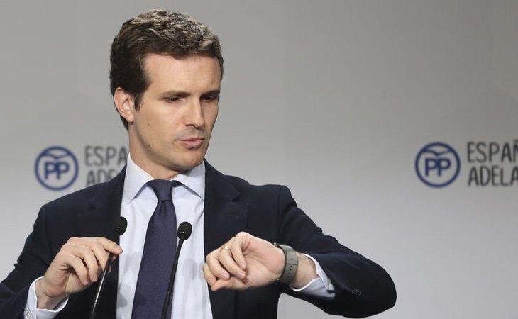 Pablo Casado es el candidato que cuenta con menos apoyo entre sus acólitos