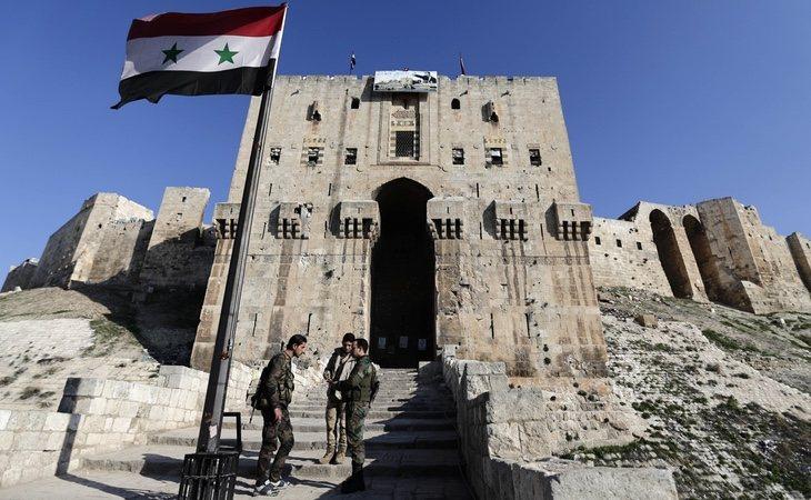 El de Al Taifur es un importante aeropuerto de las fuerzas sirias