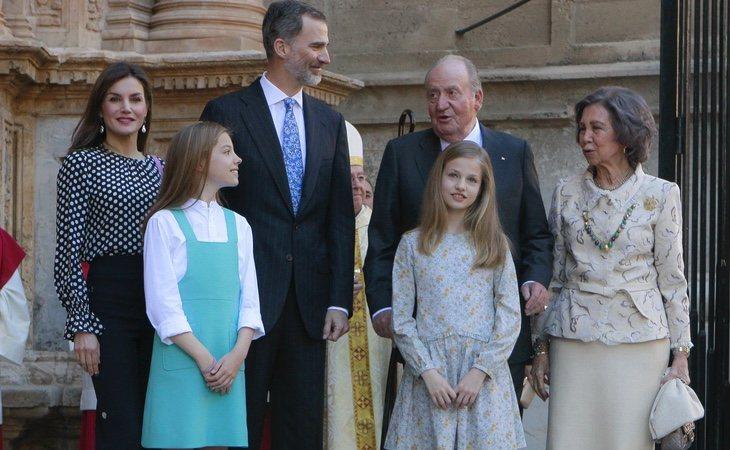 La relación entre la Familia Real, en el centro de todas las miradas