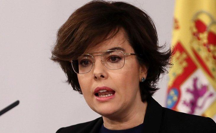 Soraya Saénz de Santamaría ya sonó en 2015 para ser presidenta de la Comunidad de Madrid