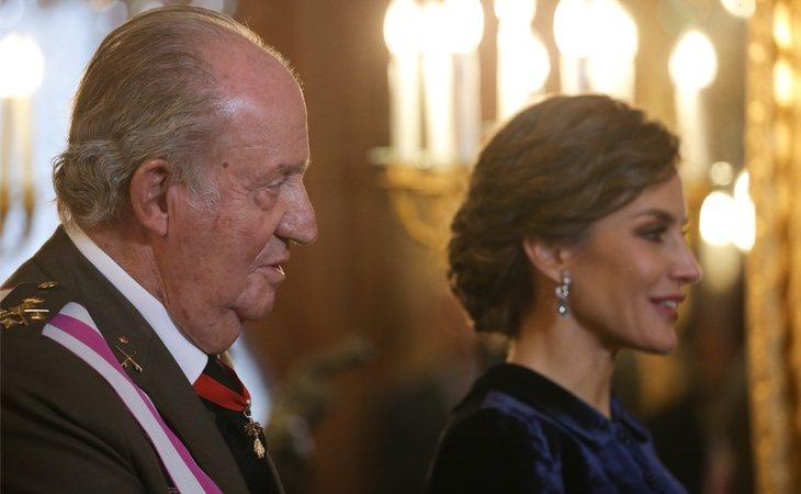 El Rey Emérito está muy enfadado con el comportamiento de Letizia