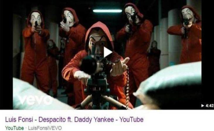 Así se ha visto durante horas el vídeo de 'Despacito'