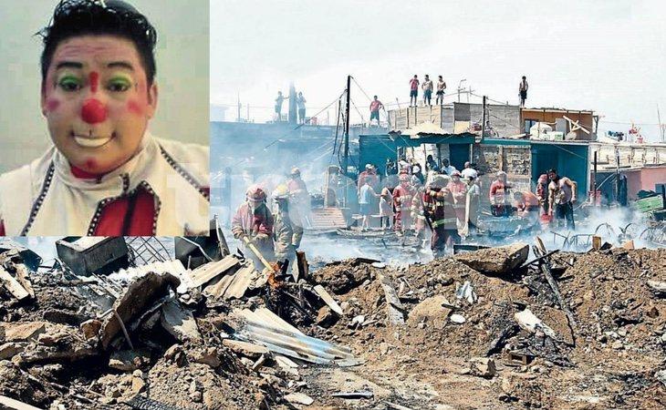 El incendio no causó la muerte de ninguna persona