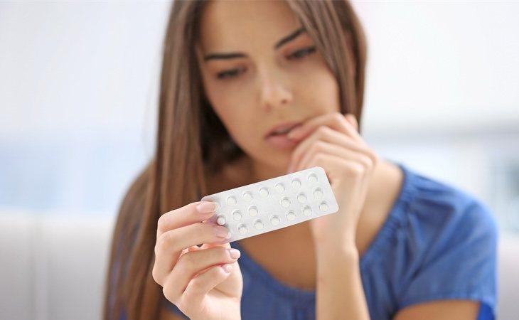La píldora también tiene efectos secundarios