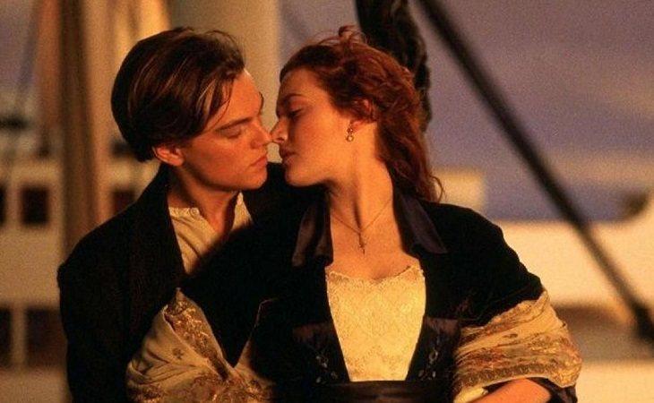 Leonardo DiCaprio y Kate Winslet en 'Titanic', de James Cameron