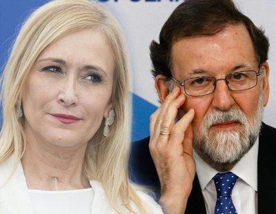 Rajoy sugiere a Cifuentes que dimita pero ella le manda a paseo