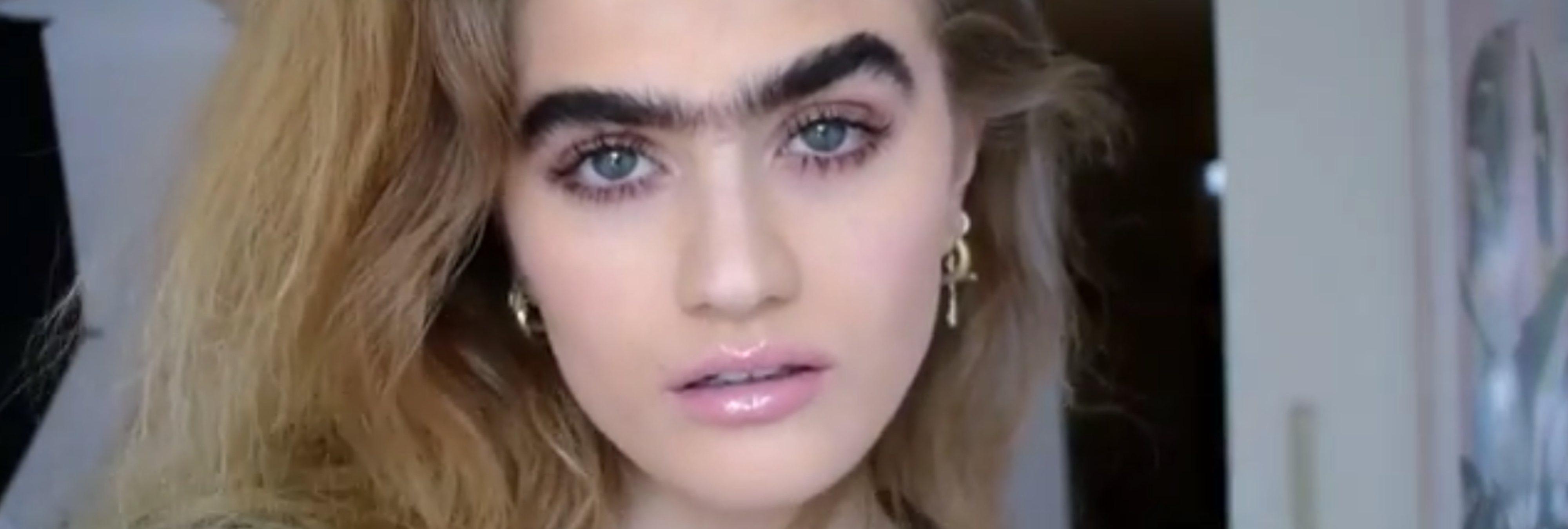 Sophia Hadjipanteli, la modelo griega que reivindica el entrecejo