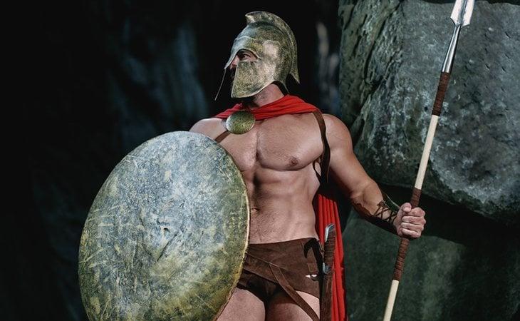 La relaciones homosexuales eran comunes en el ejército romano