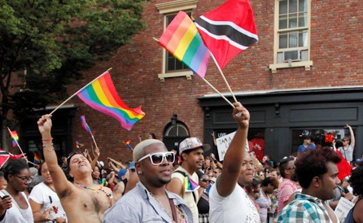 El colectivo LGTBI celebrando la diversidad sexual en Trinidad y Tobago