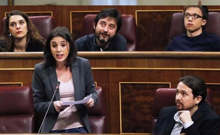 La portavoz de Unidos Podemos en el Congreso también cuenta con un título de máster