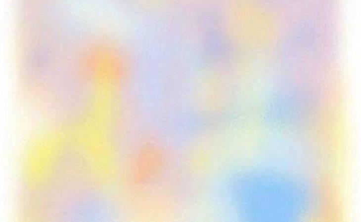 Al mirarlo fijamente, los colores desaparecen