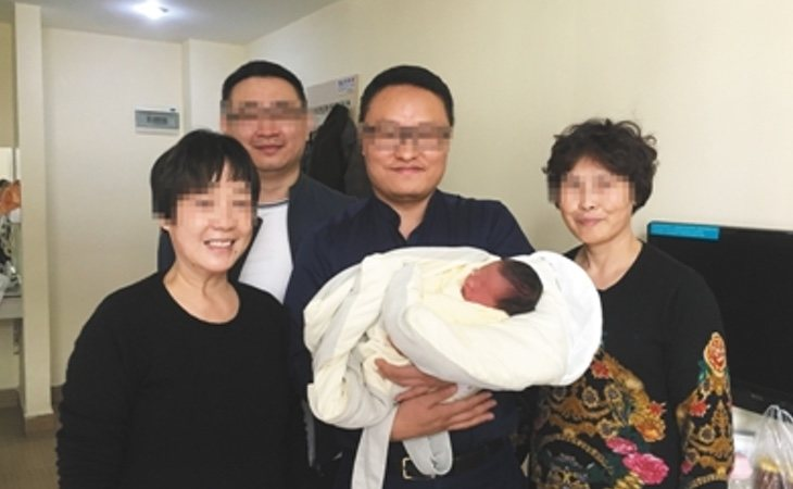 Tiantian ha nacido cuatro años después de la muerte de sus padres