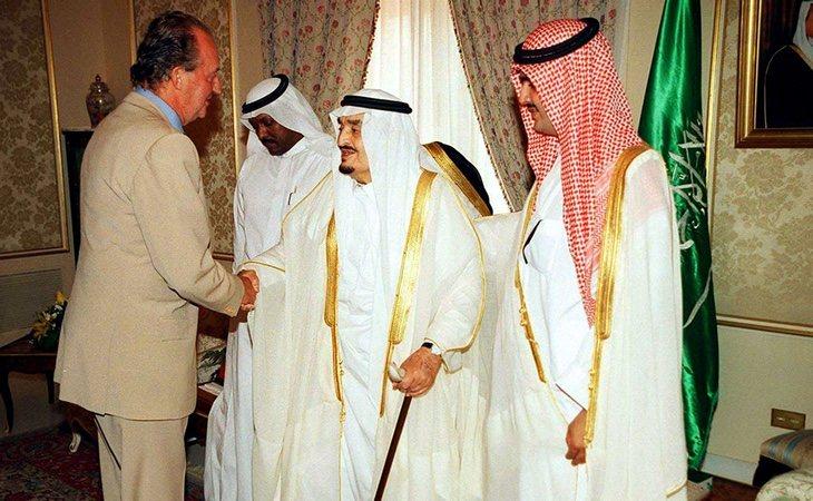 Los acuerdos de Juan Carlos I con Arabia Saudí han sido una constante durante su reinado