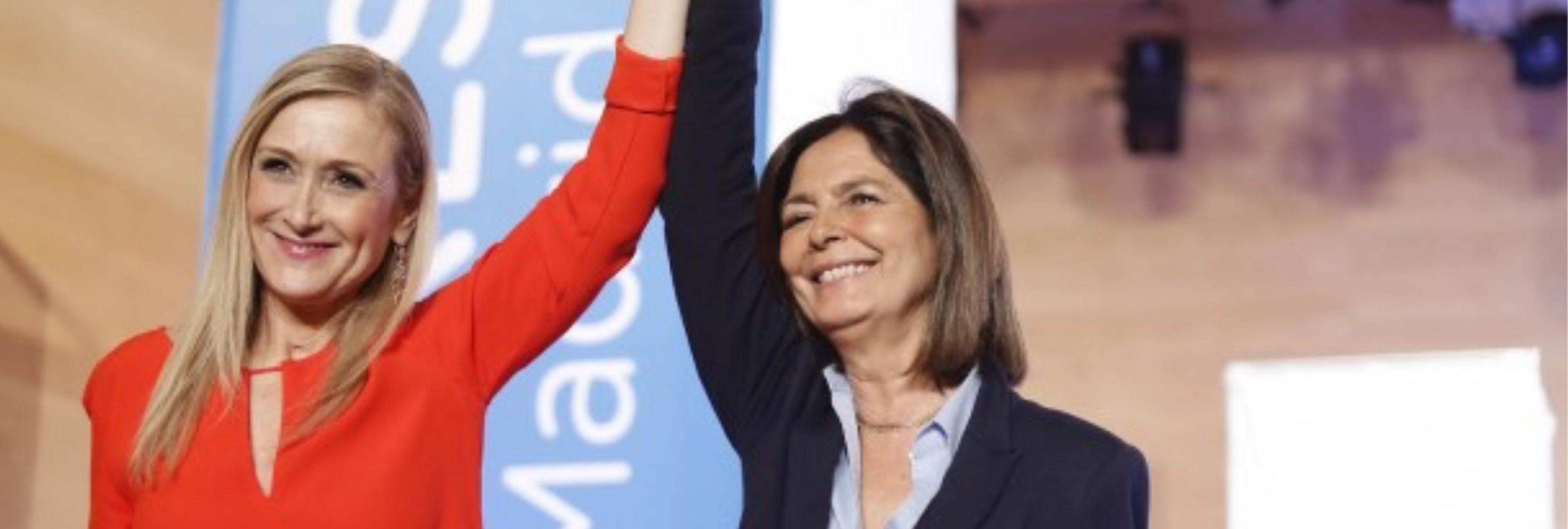 La presidenta de la Asamblea de Madrid bloquea la moción de censura contra Cifuentes