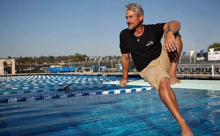 A Greg Louganis ser portador del VIH no le impidió ganar el oro olímpico