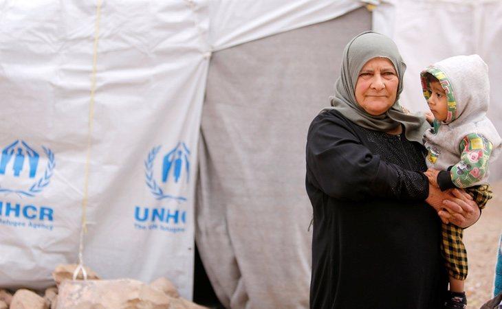 Más de 5 millones de sirios han huido de su país por la guerra, según ACNUR