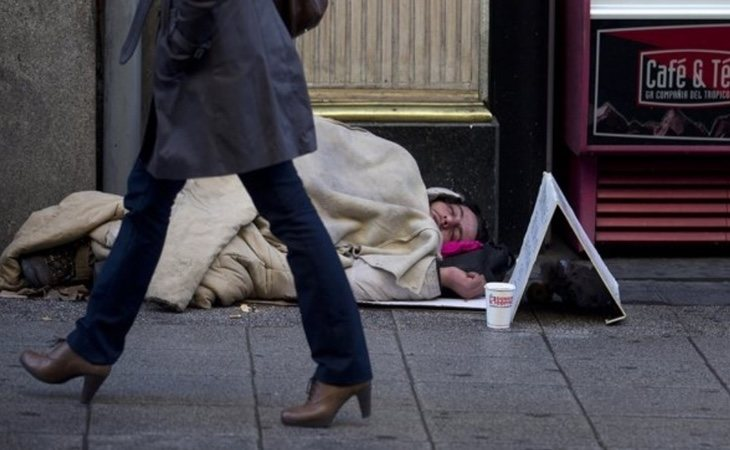 Aporofobia es el odio hacia personas que vivien en la calle