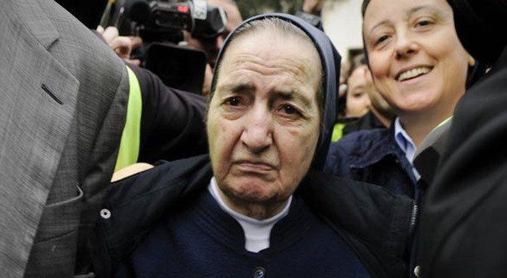 Sor María fue la cara más visible del escándalo