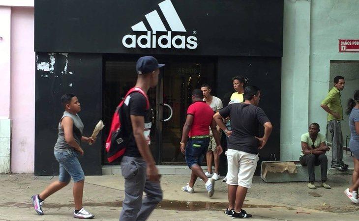 Empresas como Adidas o Mango ya se han instalado en La Habana