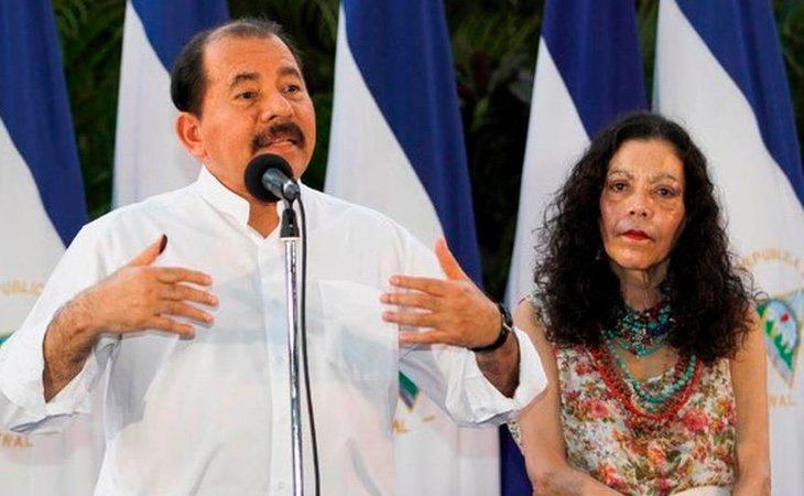 Daniel Ortega y su esposa, la vicepresidenta Rosario Murillo, han recibido múltiples críticas por la represión de las protestas