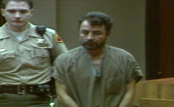 Vicente Benavides, durante el juicio por el que fue condenado a muerte
