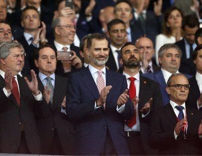 El independentismo repite los pitos al himno de España y Felipe VI en la final de la Copa del Rey