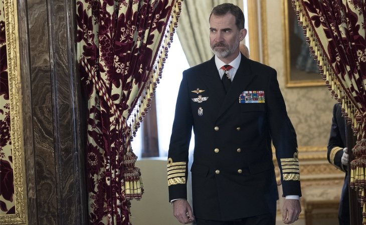 El rey tiene la Gran Cruz de la Orden del Mérito Militar, Naval y Aeronáutico