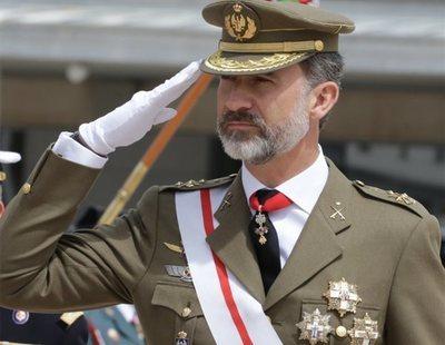 Felipe VI recibió un trato de favor en su carrera militar
