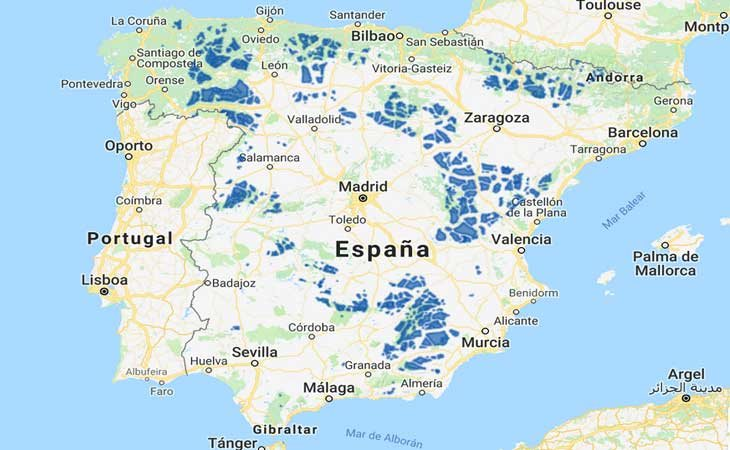 Las zonas de España más destacas para sobrevivir a un cataclismo mundial