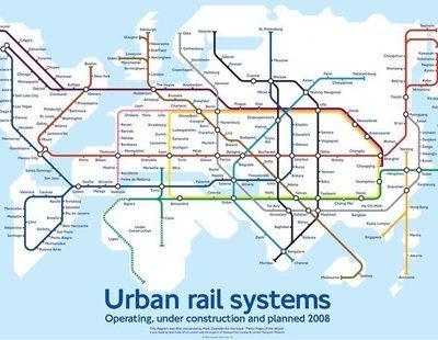 El hyperloop: así será el mapa de un futuro hiperconectado