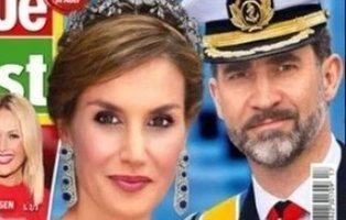 """La prensa alemana habla del """"divorcio inminente"""" de los reyes Felipe y Letizia"""