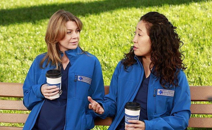 Meredith y Cristina