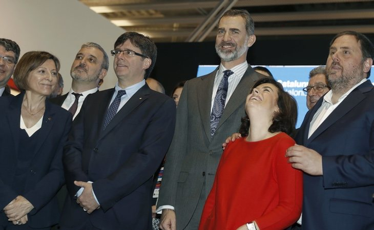 Soraya y Rajoy han apostado por una aplicación técnica del 155